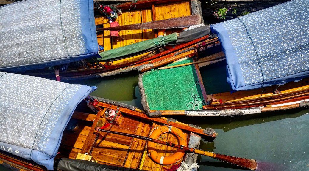 Boats in Zhouzhuang