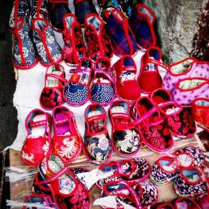 Chinesische Kinderschuhe