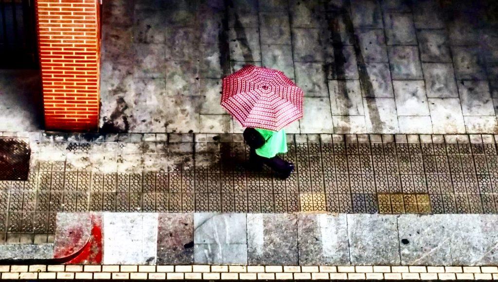 Regenschirm Bilbao