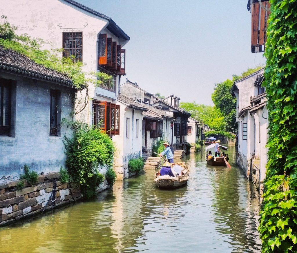Wasserkanal Zhouzhuang