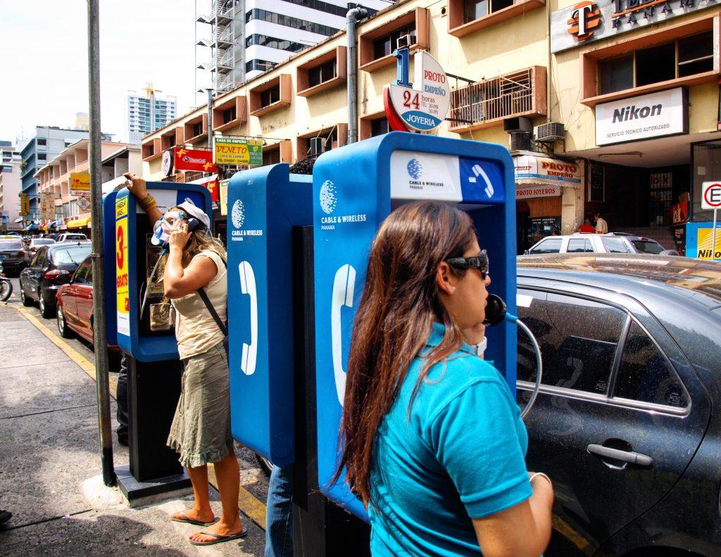 Telefonzelle Panama