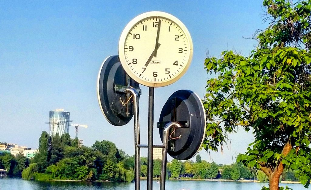 Uhr Bukarest